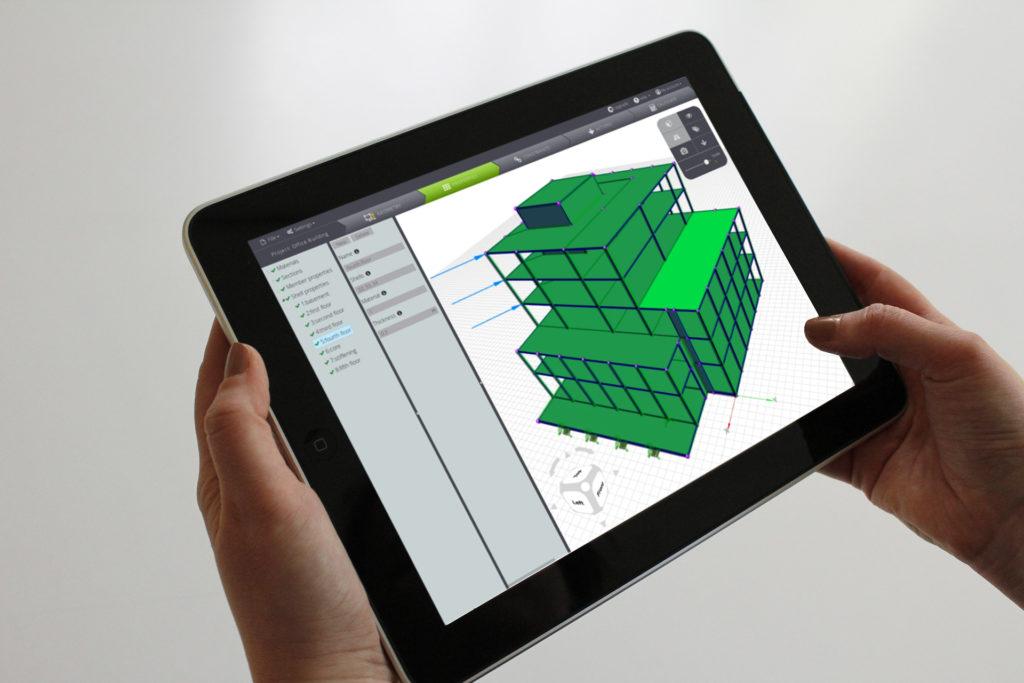 WeStatiX-cloud-FEA-3D-building-tablet