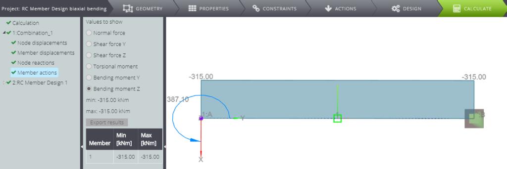 RC design biaxial bending